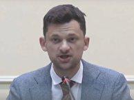 Министр кабинета министров Дмитрий Дубилет, Украина
