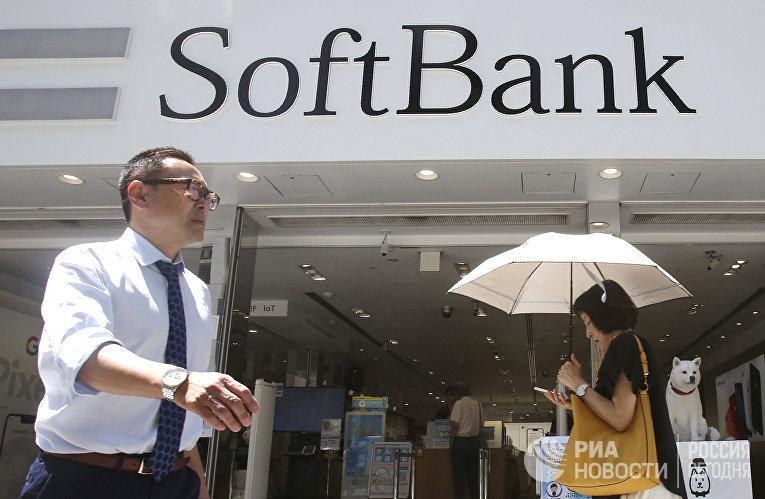 Офис SoftBank в Токио, Япония