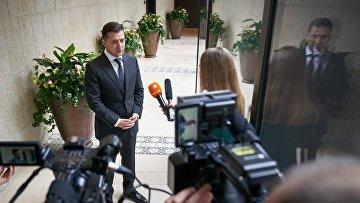 Рабочий визит Президента Украины Владимира Зеленского в Израиль