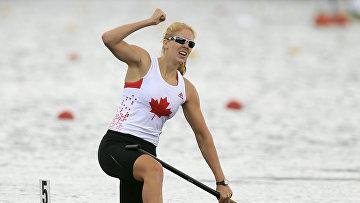 Канадская гребчиха-каноистка Лоренс Венсан-Лапуант