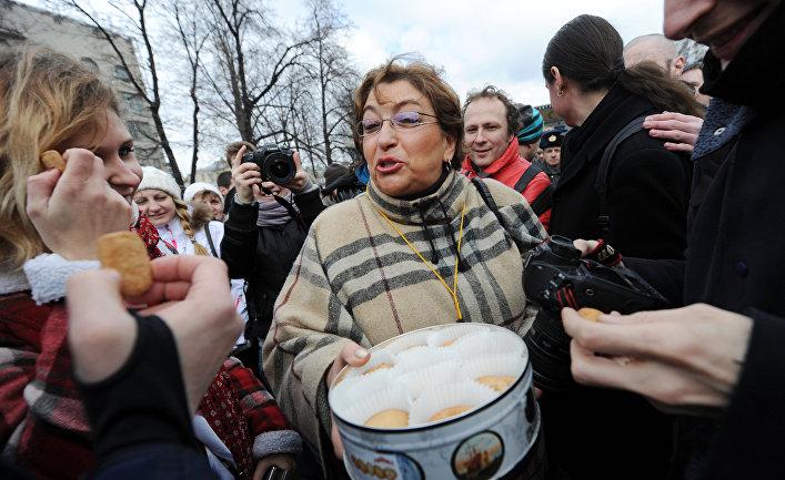 Журналистка Евгения Альбац