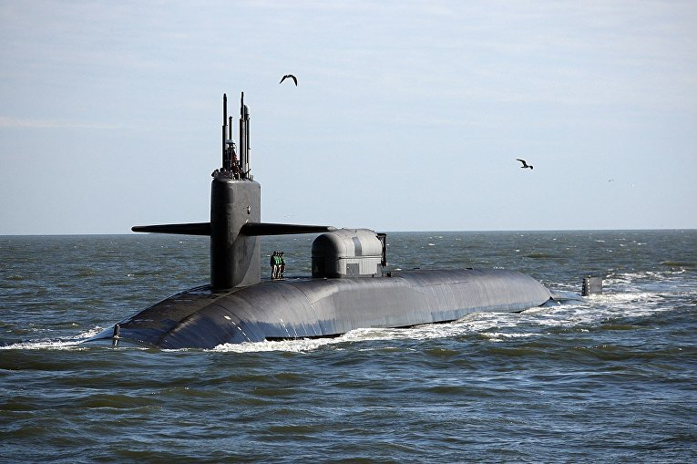 Подводная лодка USS Georgia