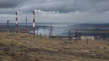 Посёлок Никель в Мурманской области