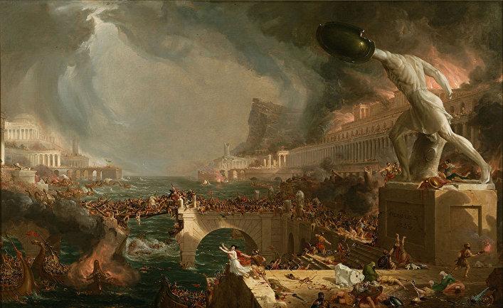 Картина американского художника Томаса Коула