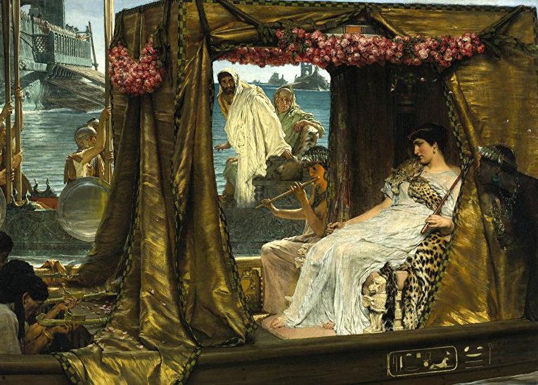 Встреча Антония и Клеопатры