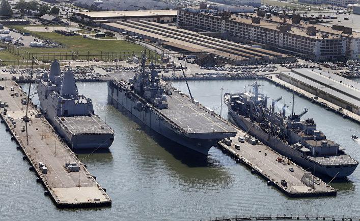 Порт Норфолк, США