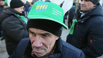 Акция в Киеве против земельной реформы