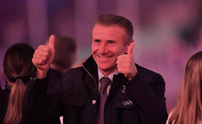 Олимпийский чемпион Сергей Бубка