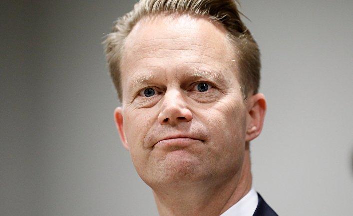 Министр иностранных дел Дании Йеппе Кофод