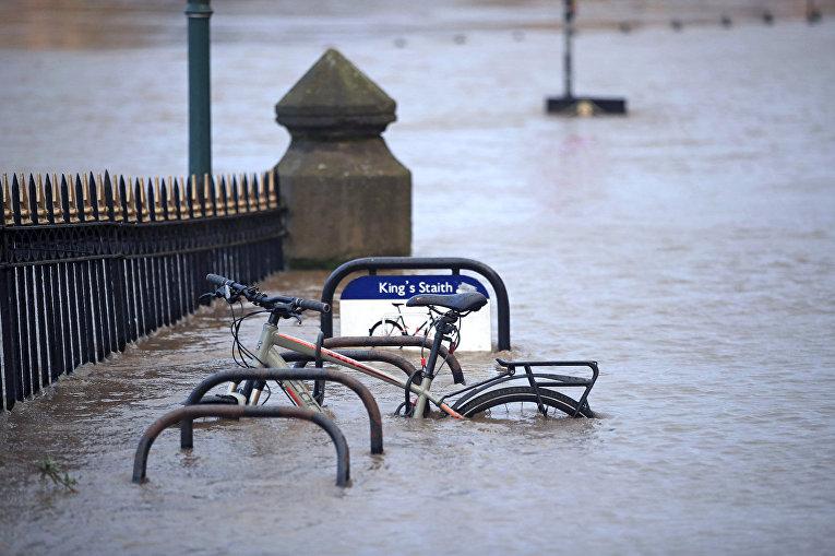Последствия урагана Киара в Йорке, Великорбритания