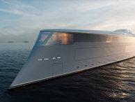 SINOT AQUA Full Hydrogen Yacht Concept