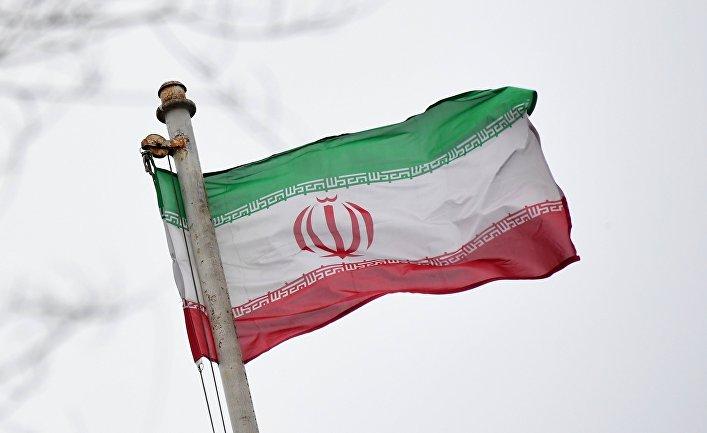 Флаг Исламской Республики Иран