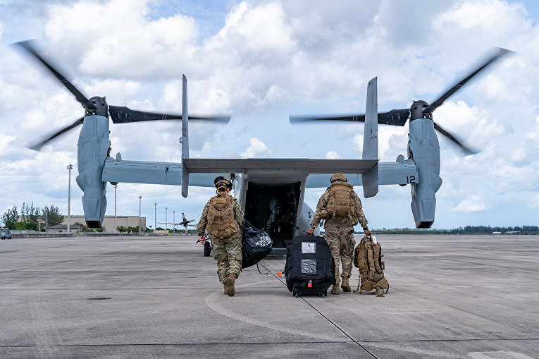 Американский конвертоплан Osprey MV-22