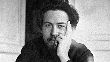 Писатель Антон Павлович Чехов