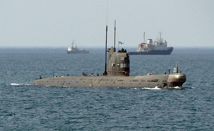 Украинская подводная лодка Запорiжжя