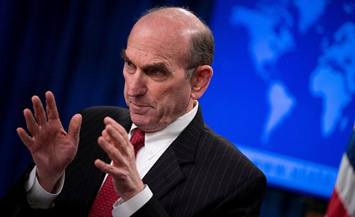 Специальный представитель США по Венесуэле Эллиот Абрамс