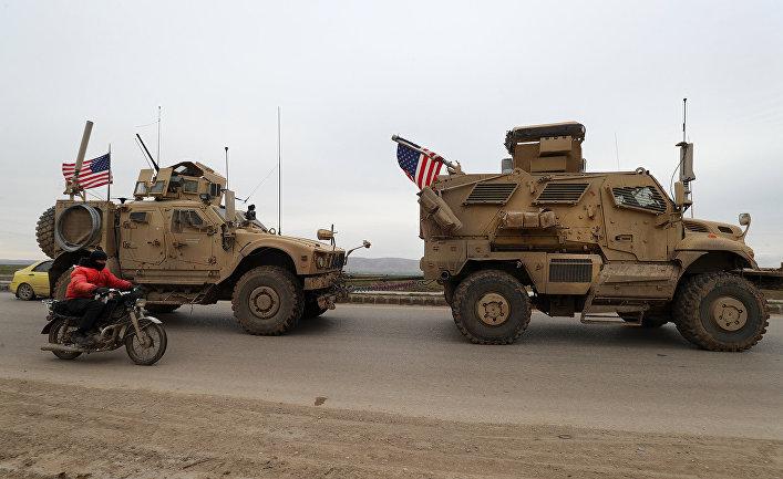 Военный конвой США