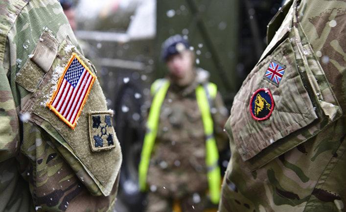 Американские и британские солдаты на учениях НАТО Defender Europe, Германия