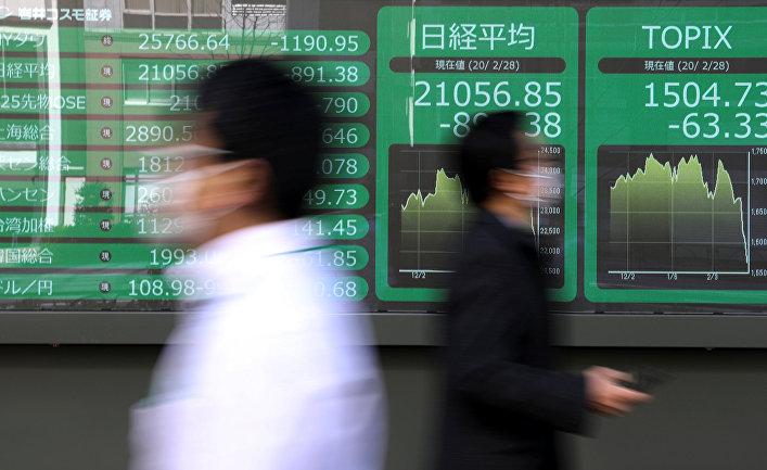 Индекс Nikkei в Токио, Япония