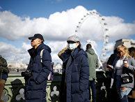 Туристы в Лондоне, Великобритания