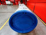 26февраля 2020. Производство труб для «Северного потока— 2» вЧелябинске, Россия