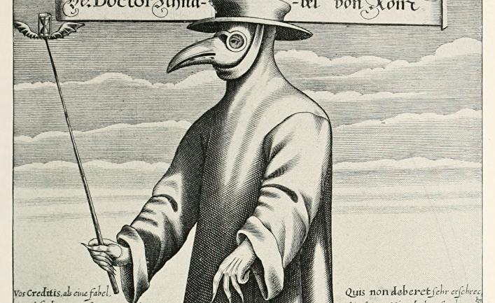 Изображение чумного доктора