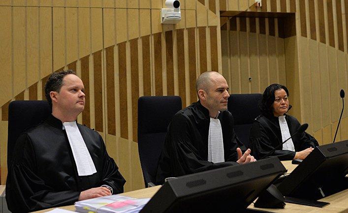 Заседание суда по делу о крушении Boeing MH17