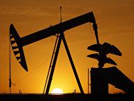 Нефтяная скважина в США