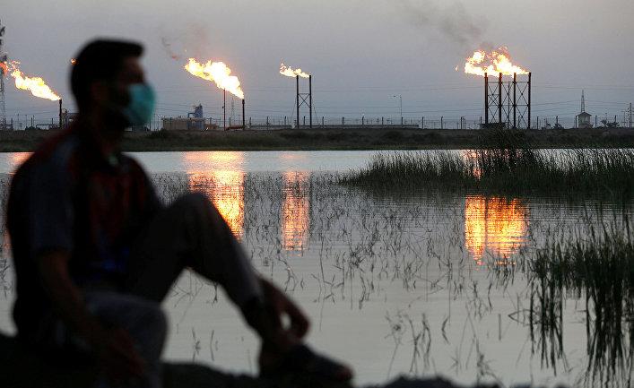 Нефтяное месторождение к северу от Басры, Ирак