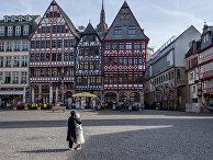 Площадь Рёмерберг во Франкфурте, Германия