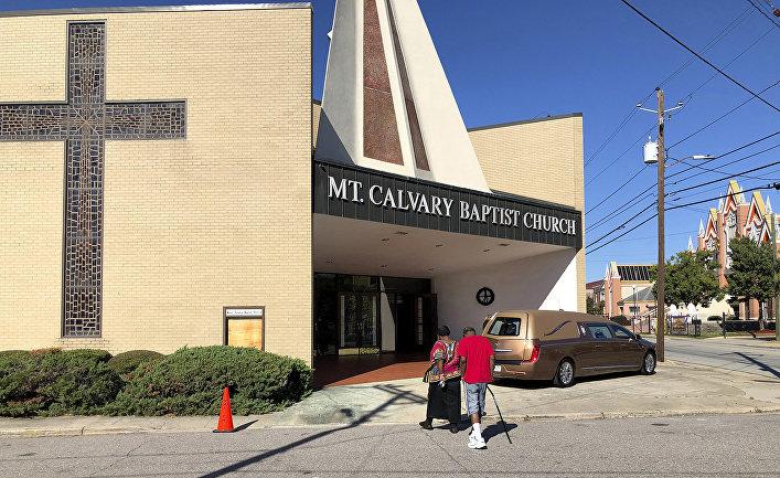 Баптистская церковь в Огасте, штат Джорджия