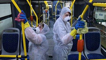 Дезинфекция транспорта в Санкт-Петербурге