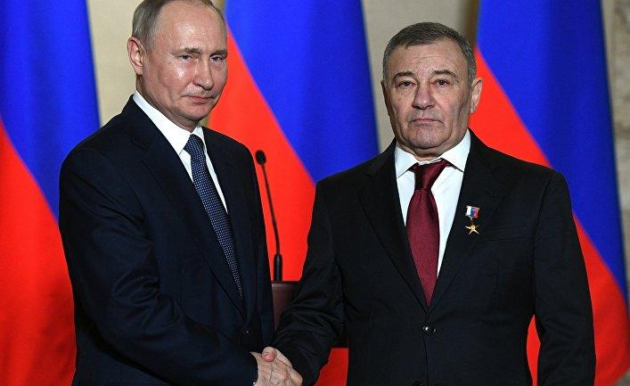 Рабочая поездка президента В. Путина в Крым