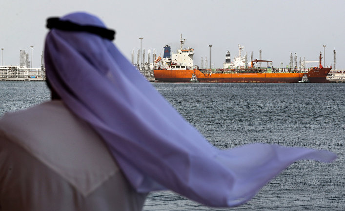 Порт Фуджейра в Персидском заливе