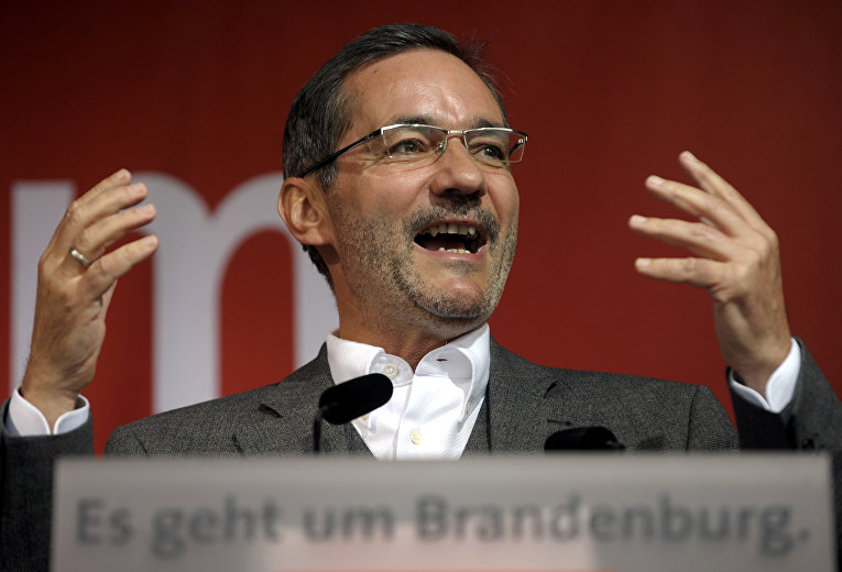Немецкий политик Маттиас Платцек