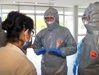 Российские военные специалисты провели рекогносцировку в лечебных учреждениях Бергамо