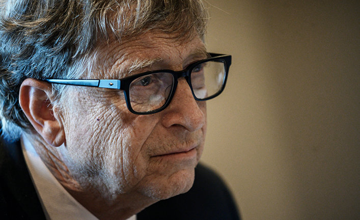 Американский предприниматель Билл Гейтс