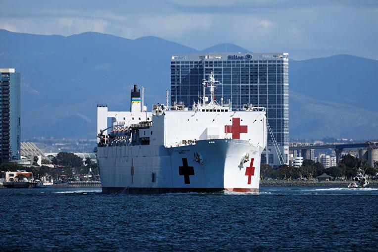 Военно-морской корабль-госпиталь Mercy