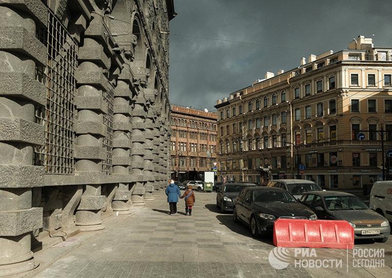 Санкт-Петербург во время режима самоизоляции жителей