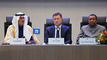 Заседание стран-участниц соглашения о сокращении добычи нефти ОПЕК+