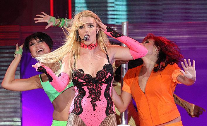 Американская певица Бритни Спирс