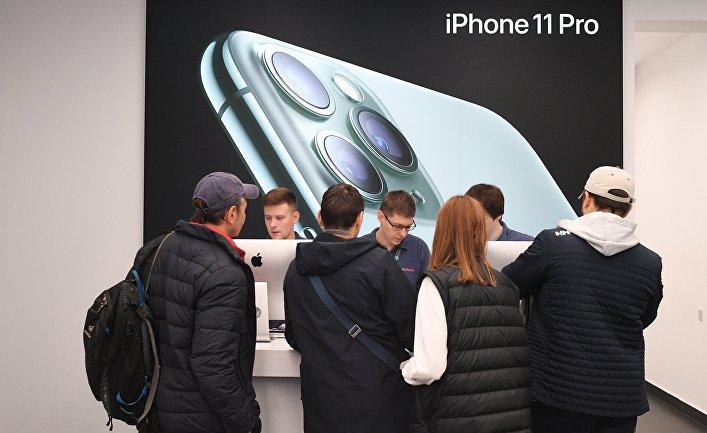Старт продаж новых айфонов в России