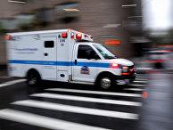 Скорая помощь в Нью-Йорке, США.