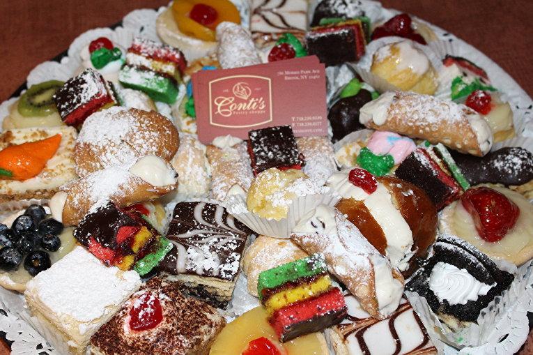 Сладости из Conti's Pastry Shoppe