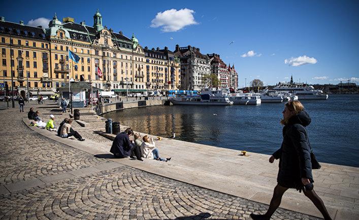 15 апреля 2020. Жители Стокгольма, Швеция