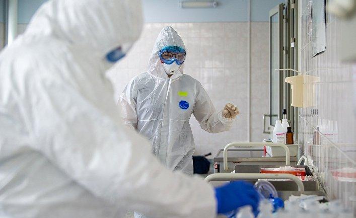 Открытие стационара по борьбе с коронавирусом на базе горбольницы №31