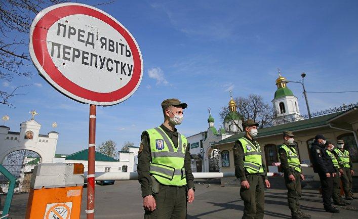 Киево-Печерская лавра закрыта на карантин