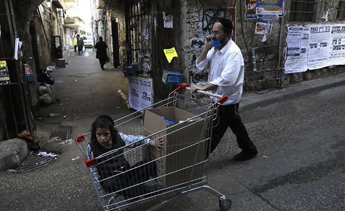 Ультраортодоксальные евреи в Иерусалиме