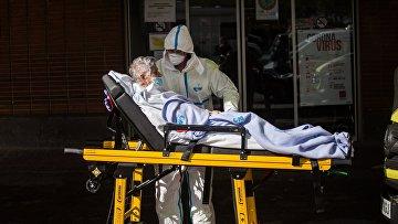 Мадрид во время пандемии коронавируса