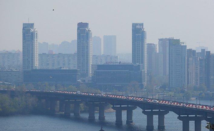 Загрязнение воздуха в Киеве